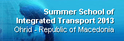 Summer School of Integrated Transport 2012, Kotor - Montenegro