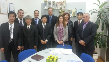 Representatives of the Ministry of Maritime Affairs of Japan to visit the Faculty