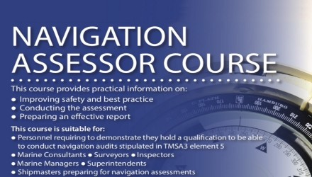 The Nautical Institute's NAVIGATION ASSESSOR Course