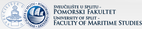 Sveučilište u Splitu - Pomorski Fakultet, logo | University of Split - Faculty of Maritime Studies, logo